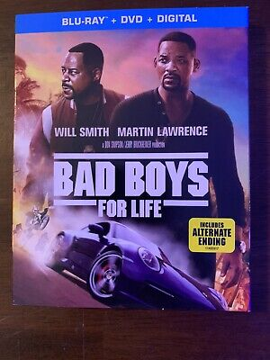 Bad Boys for Life (Blu-ray + DVD + Digital; 2020) NEW w/ Slipcover