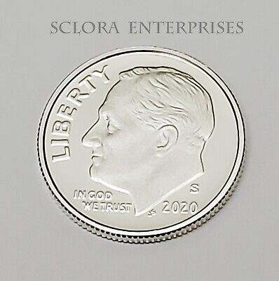 2020 S Roosevelt *99.9% SILVER PROOF* Dime  **FREE SHIPPING**