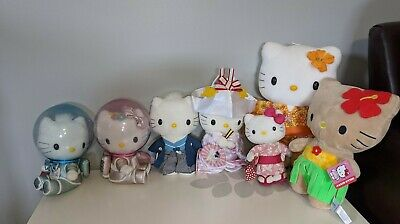 Hello Kitty Plush McDonald's Toys Rare 2000 Cute