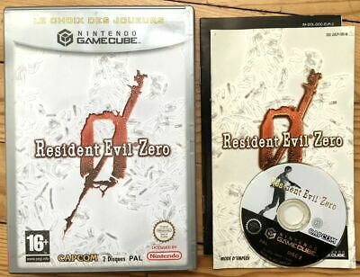 Resident Evil Zero Manque Disque 1 Incomplet Gamecube Pal Fr Cib Ovp Re 0