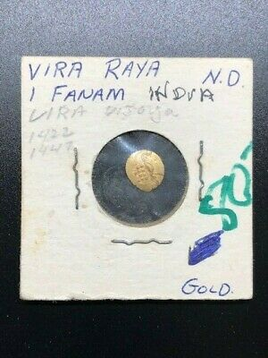 Indian - Fanams - Gold