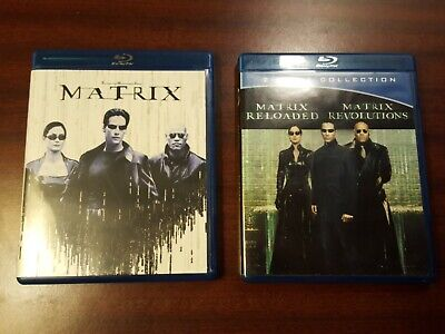 The Complete Matrix Trilogy (Blu-ray 3 Discs)