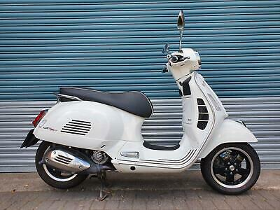 Vespa Gts 300 Super Hpe White 2019 - Low Miles, One Owner From New Latest Model