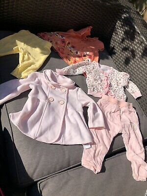 Ted Baker / Disnep Baby Girls Clothes 0-3 And 3-6 Months Bundle