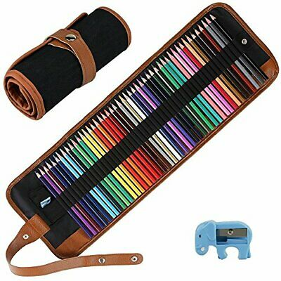 E-More 50 Piece Colouring Pencils Set, Art Colour Pencils Drawing Pencils with