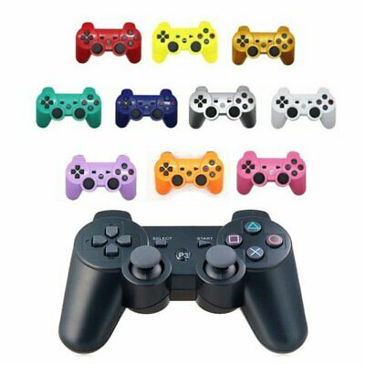 for PS3 Wireless Bluetooth 3.0 Controller Game Handle Remote Gamepad UK Stock