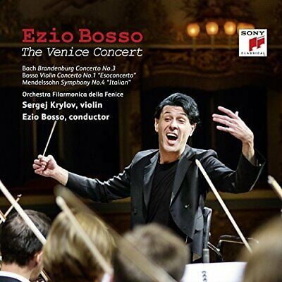 BOSSO EZIO - The Venice Concert (cd+dvd)