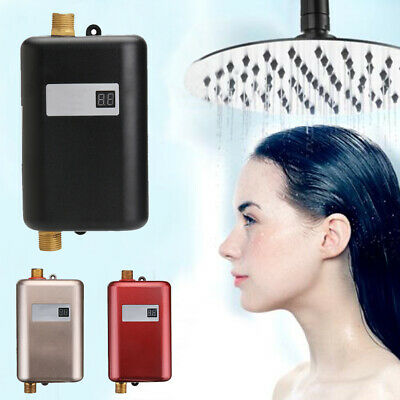 Sink Electric Mini Tankless Instant Hot Water Heater System Bathroom Kitchen