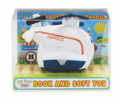 My First Thomas The Tank Engine And Friends Harold Soft Plush Toy-FREE P&P