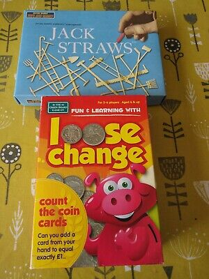 Jack Straws And Loose Change A Money Educational Game