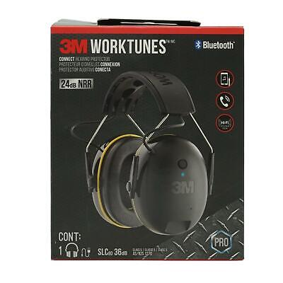 USE 3M Safety WorkTunes Connect Hearing Protector with Bluetooth Technology