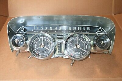 1959 Buick Instrument Gauge Cluster Rat Hot Rod Invicta Electra Lesabre Works