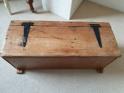 Wooden Box, Chest, Storage, Vintage
