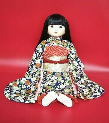 Japanese ichimatsu doll 18 inch 45cm Lovely girl in EXCELLENT CONDITION Vintage