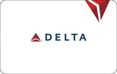 Delta Airlines Electronic Gift Card - ($50) Fast Delivery (Read description)