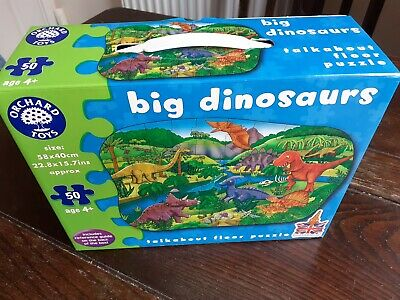 Orchard Toys Big Dinosaurs Floor Puzzle. Age 4+ 50 piece puzzle Great Condition