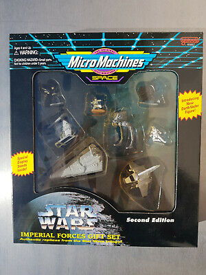 Star Wars Micro Machines / Imperial Forces Gift Set / 2nd Edition / 1995 Galoob