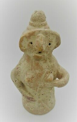 Circa 2200 - 1800 Bce Ancient Indus Valley Harappan Terracotta Pillar Idol