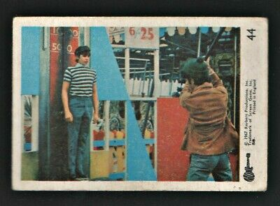 MONKEES 1967 Rayberts A&BC Gum - Colour Trading Card no.44