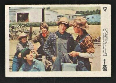 MONKEES 1967 Rayberts A&BC Gum - Colour Trading Card no.43