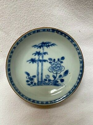 Antique Chinese Porcelain Blue And White Dish From The Nanking Cargo Haul