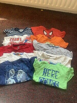 Bundle Of Boys Tops Age 3-4 Years Including Next And Ben Sherman
