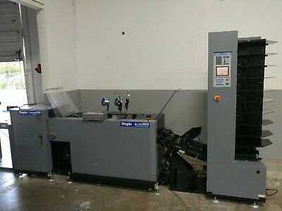 Duplo System 5000 Booklet Maker with Collator, Trimmer, Conveyor and More!