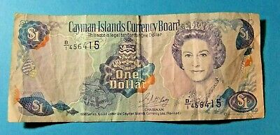 Cayman Islands Currency 1 DOLLAR Bank Note