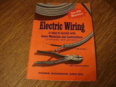 Electric Wiring Manual by Sears, Roebuck and Co. 1955