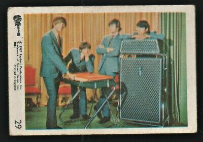 MONKEES 1967 Rayberts A&BC Gum - Colour Trading Card no.29