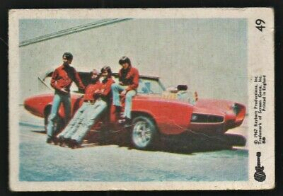 MONKEES 1967 Rayberts A&BC Gum - Colour Trading Card no.49