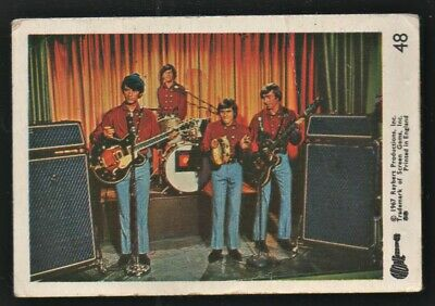 MONKEES 1967 Rayberts A&BC Gum - Colour Trading Card no.48