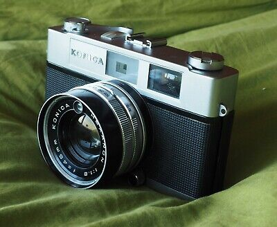 Konica S2 Rangefinder Camera with Hexanon 45mm f1.8 lens (35mm film)
