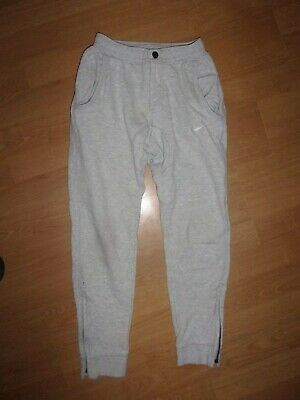 Nike Silver Grey girls jogging bottoms age 8-10 years (S girls)
