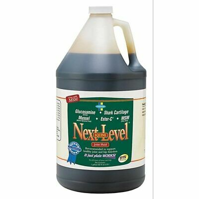 Next Level Joint Fluid Equine Horse Dogs Supplement Lubricate Joints 1 Gallon