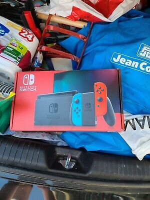 Nintendo Switch 32GB with Neon Red and Neon Blue Joy-Con Brand New Never Opened