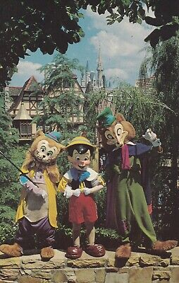 Postcard Watch Out Pinocchio Walt Disney World Not Posted