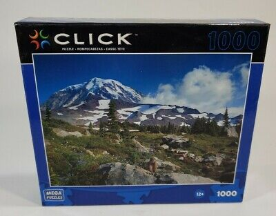 Mega Puzzles mountain Piece Click Jigsaw Puzzle new free shipping