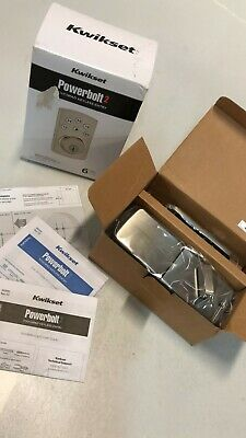 Kwikset Powerbolt 2 Touchpad Keyless Entry w/ 6 User Codes - 99070-101 OPEN BOX