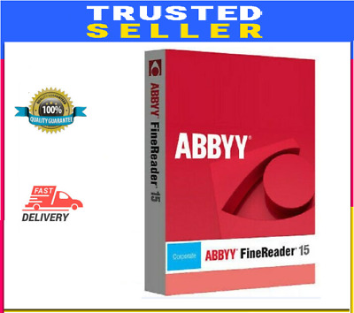 ABBYY Finereader Corporate Edition 15⚡️Lifetime Activation 🔥 Fast Support 🔥