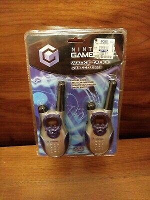 RARE Nintendo Gamecube Promo Walkie Talkies 2002