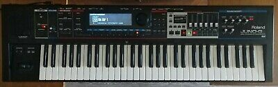 Roland JUNO-Gi synthesizer with power supply and manual. Incredible Synth!!