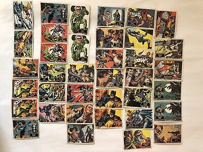 Vintage Batman Show Trading Cards 1966 National Periodical Publications Lot 37