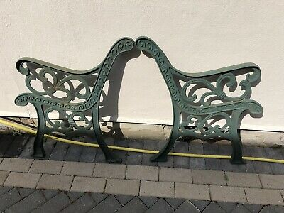 Heavy Vintage Cast Iron Garden Furniture Ends (Chairs, Bench, Table)