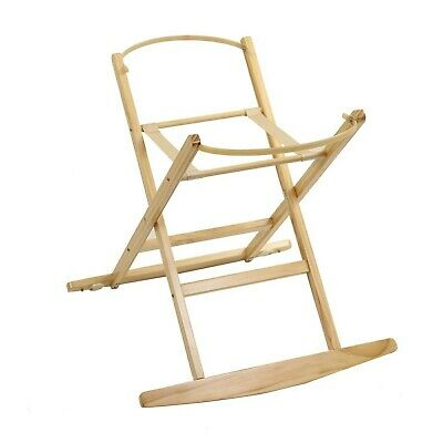 Dormouse Moses Basket Rocking Stand - Natural