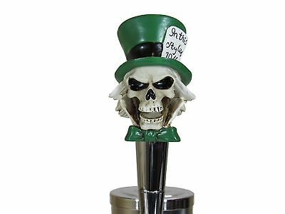 Mad Hatter Beer Tap Handle Kegerator Resin Zombie Breweriana Bar Walking Dead