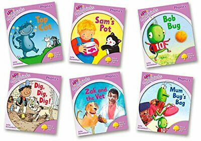 Oxford Reading Tree Songbirds Phonics: Level 1+. Mixed Pack of 6