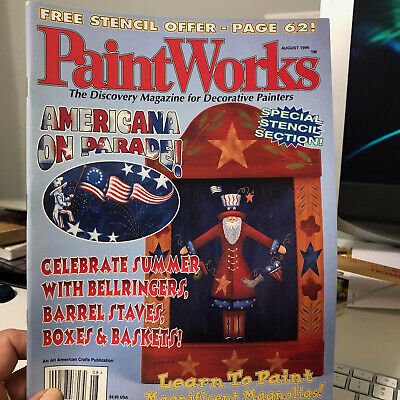 Paint Works Magazine--August 1996