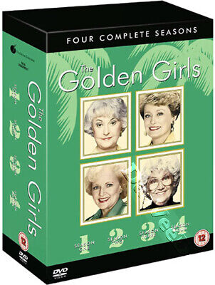 The Golden Girls - Complete Series 1-4 NEW PAL 15-DVD Box Set Terry Hughes