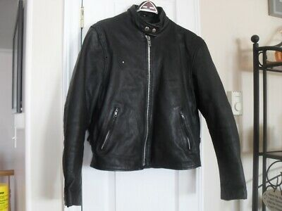Lady's Screaming Eagle Leather Motorcycle Jacket - Fits M-L